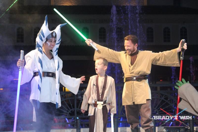Make a Wish Foundation's – The Knighting of Jedi Brady