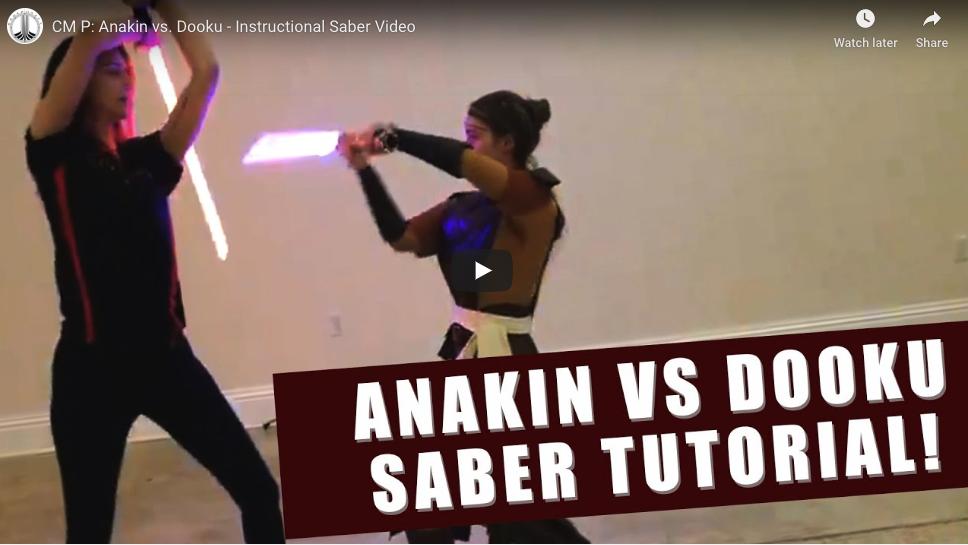 CM-P: Dooku vs Anakin
