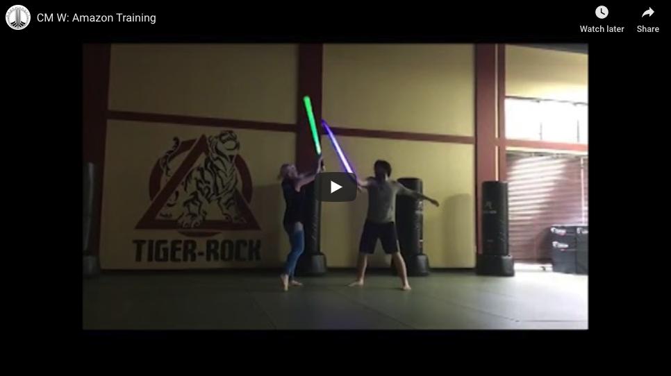 CM-W: Amazon Training - Wonder Woman vs Antiope