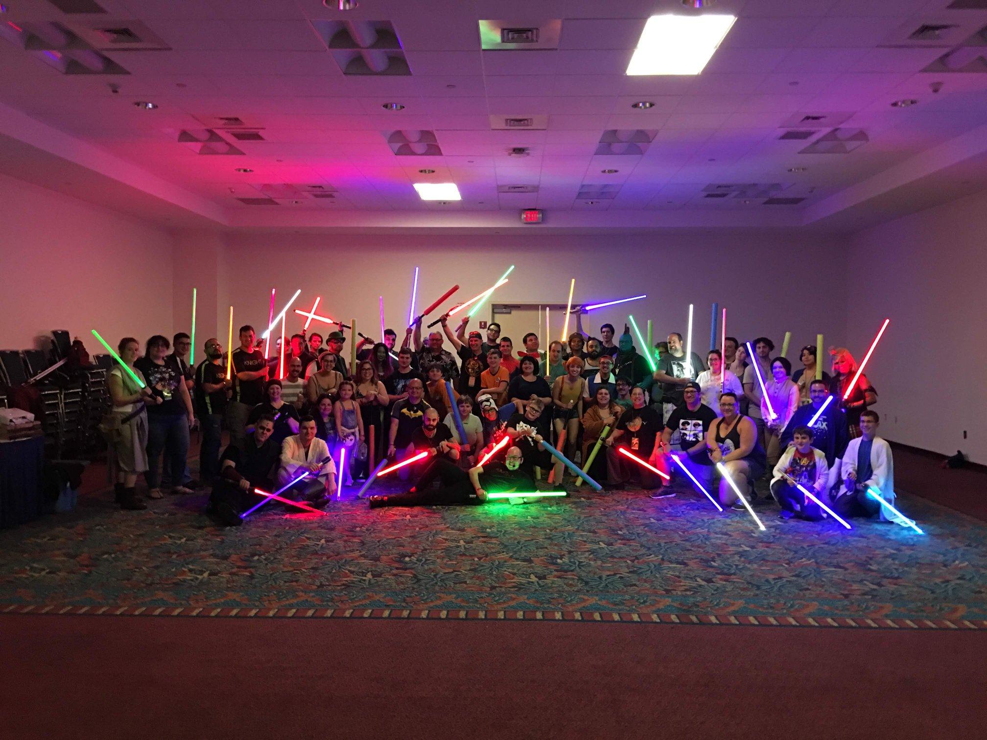 Florida Supercon 2018 SaberCraft Saber Workshop